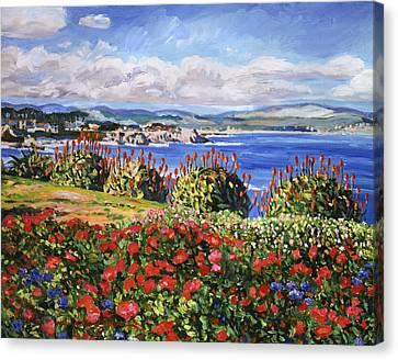 Pacific Grove Canvas Print by David Lloyd Glover