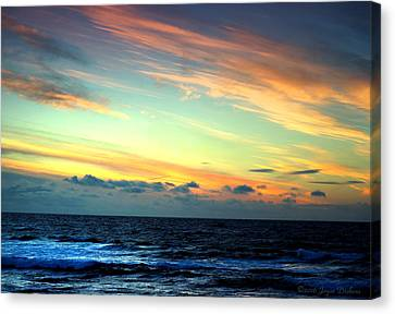 Pacific Grove Sunset Two Canvas Print