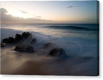 Pacific Ocean Power - Hawaii Canvas Print by Brad Rickerby