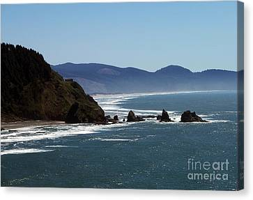Pacific Ocean View 2 Canvas Print
