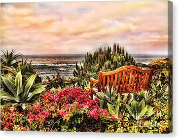 Pacific Ocean View Canvas Print
