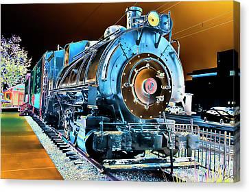 Pacific Southwest Railway And Meseum Canvas Print by Daniel Hebard