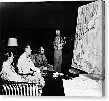 Democrats Canvas Print - Pacific Theater, 1944 by Granger