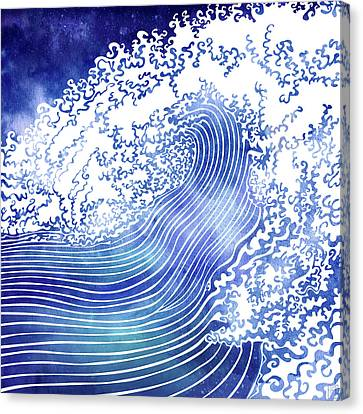 Pacific Waves II Canvas Print