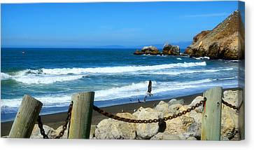 Canvas Print featuring the photograph Pacifica Coast by Glenn McCarthy Art and Photography