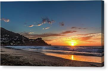 Canvas Print - Pacifica Sunset by Bill Gallagher