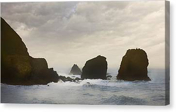 Pacifica Surf Canvas Print