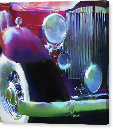 Packard Close Up Canvas Print