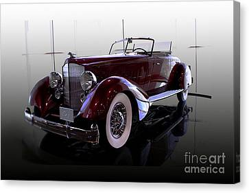 Packard Convertable Canvas Print by Curt Johnson