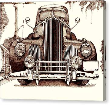 Packard Canvas Print by Gary Galarza