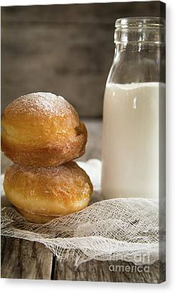 Paczki Doughnuts Canvas Print by Deborah Klubertanz