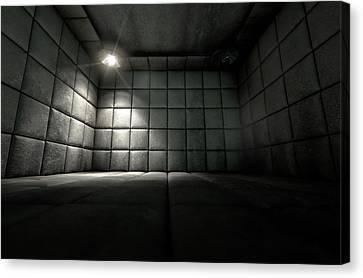 Psychiatric Canvas Print - Padded Cell Dirty Spotlight by Allan Swart