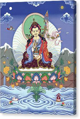 Tibetan Canvas Print - Padmasambhava by Carmen Mensink