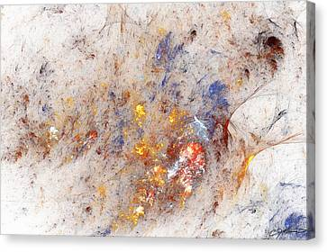 Paean To Pollack Canvas Print by Casey Kotas