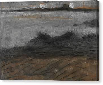Boccioni Canvas Print - Paesaggio by Umberto Boccioni