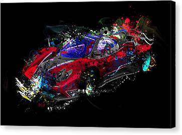 Pagani Canvas Print by Mark Ashkenazi