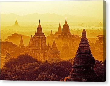 Pagodas Canvas Print by Dennis Cox WorldViews
