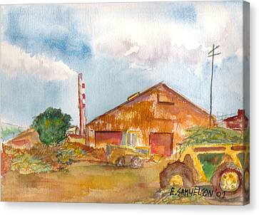 Paia Mill 3 Canvas Print by Eric Samuelson