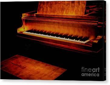 Canvas Print - Piano by Paulette Thomas