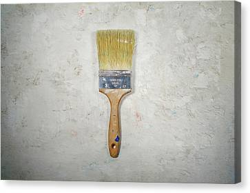 Blank Canvas Print - Paint Brush by Scott Norris