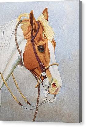 Paint Me A Cowpony Canvas Print