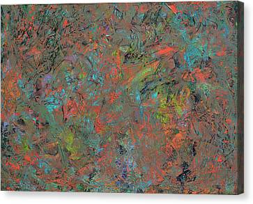 Paint Number 17 Canvas Print by James W Johnson