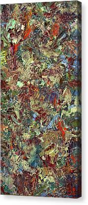 Paint Number 21 Canvas Print