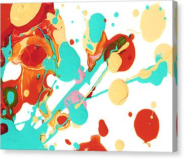 Paint Party 3 Canvas Print by Amy Vangsgard