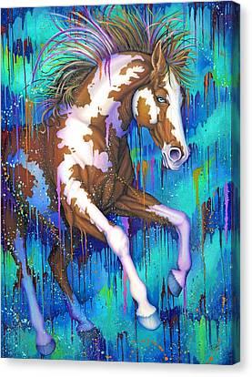 Paint Running Wild Canvas Print