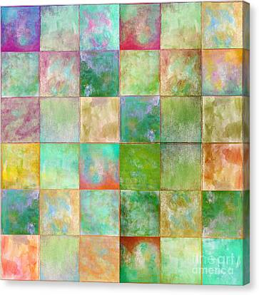 Paintbox Canvas Print by Mindy Sommers