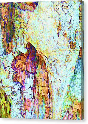 Surf Lifestyle Canvas Print - Painted Bark I by Chris Andruskiewicz