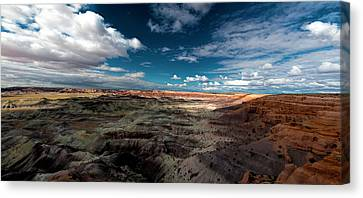 Painted Desert Canvas Print by Charles Ables