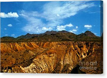 Painted Desert Canvas Print by Ruth  Housley