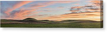 Painted Farmland Canvas Print by Jon Glaser