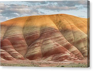 Painted Hill At Last Light Canvas Print by Greg Nyquist