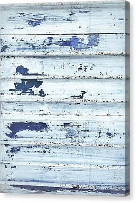 Painted Metal Surafce Canvas Print