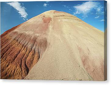 Canvas Print featuring the photograph Painted Mound by Greg Nyquist
