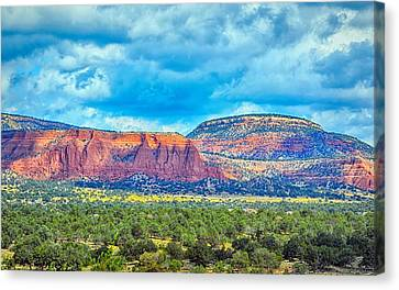 Painted New Mexico Canvas Print