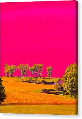 Painter Ridge Canvas Print by Gillis Cone