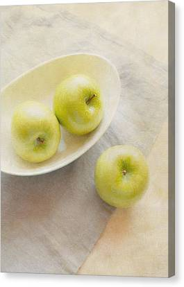 Painterly Apples Canvas Print