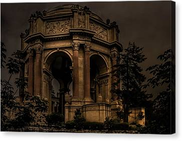 Canvas Print featuring the photograph Palace Of Fine Arts - San Francisco by Ryan Photography