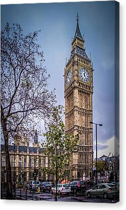 Palace Of Westminster London Canvas Print