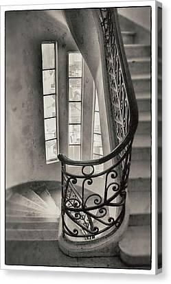 Palacio Barolo Stairs Buenos Aires Canvas Print