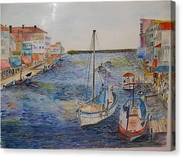 Palavas Canvas Print by Aline Kala
