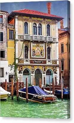 Palazzo Salviati Grand Canal Venice  Canvas Print
