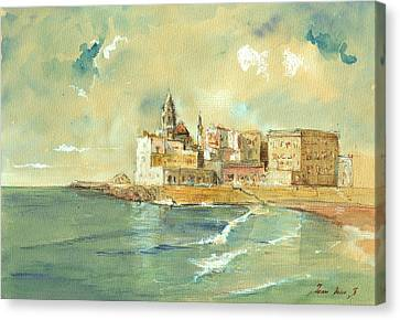 Palermo Sicily Italy Canvas Print by Juan  Bosco
