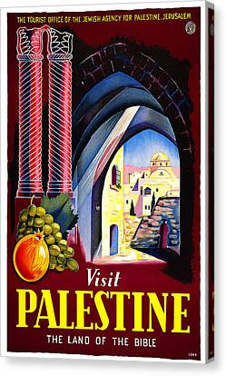 Palestine - Land Of The Bible Canvas Print