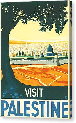 Jerusalem Canvas Print - Palestine by Georgia Fowler