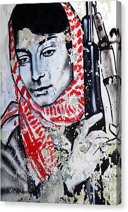 Palestinian Icon Canvas Print by Munir Alawi