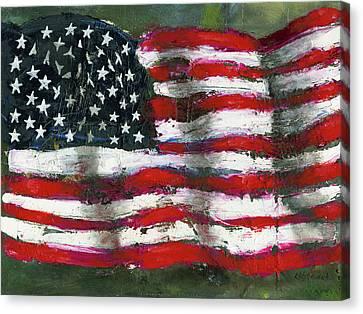 Palette Flag Canvas Print